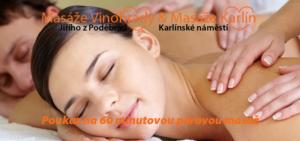 voucher párová masáž